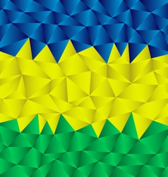 Triangular brazil background vector