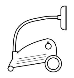 Vacuum cleaner icon outline style vector image