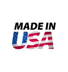 Made in the usa logo vector