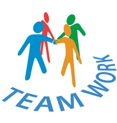 Teamwork Collaboration vector image vector image