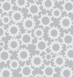 Cog wheel seamless pattern vector image vector image