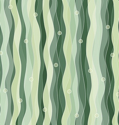abstract seaweed seamless pattern vector image
