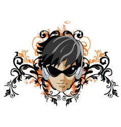 bannerface vector image