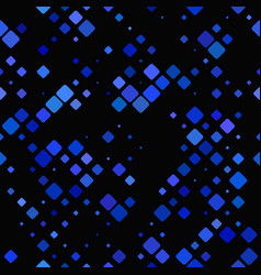 blue abstract diagonal square pattern background vector image