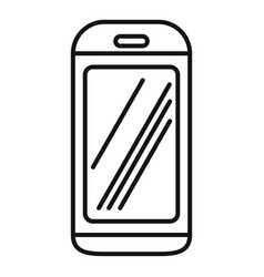 Cabine elevator icon outline style vector