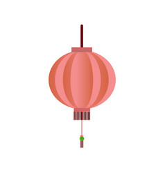 Chinese lantern symbol vector