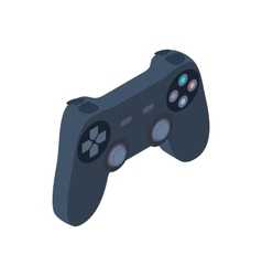 Game controller icon isometric 3d style vector image