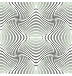 Ornate Geometric Petals Grid Seamless Pattern vector