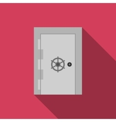 Safe door vector