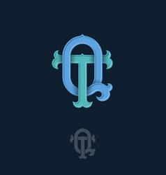 T q monogram vector