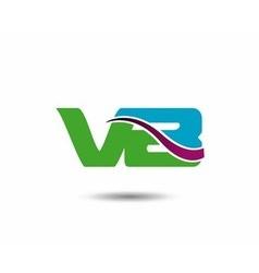 VB logo vector image