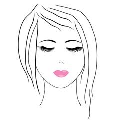 spa facial vector image