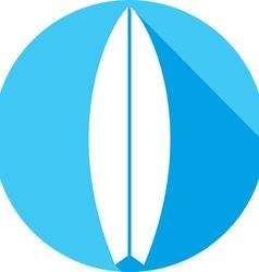 Surfboard Icon vector image vector image