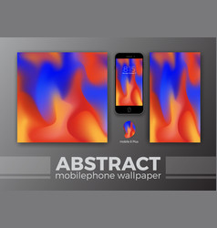 abstract background design for mobile wallpaper vector image