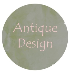 Antique colors design vector