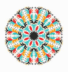 Colored mandala decorative element for your design vector