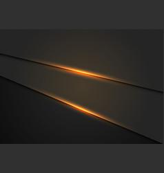 Gold light effect on dark metallic hexagon mesh vector