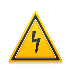 High Voltage Icon vector