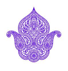 Indian ethnic ornamental decorative element vector