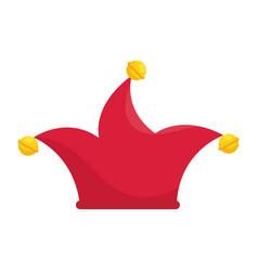 joker cap hat vector image