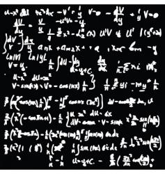 maths pattern vector image