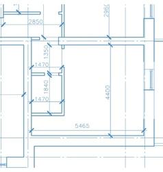 New white architecture model vector