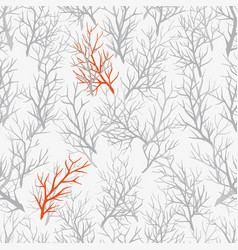pattern branches vector image