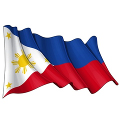 Philippines Flag vector image