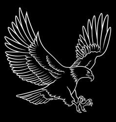 eagle 011 vector image