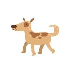 Shepherd Dog Walking vector image vector image