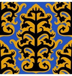 Suzani seamless ethnic pattern vector image vector image