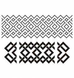 geometrical pattern vector image vector image