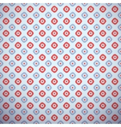 Yoga pattern tiling Light blue and red colors vector image vector image