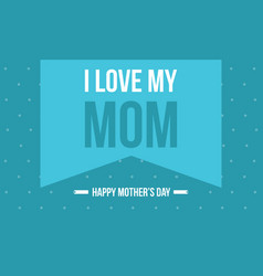 Background for mother day vector
