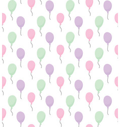 Baloons pattern vector