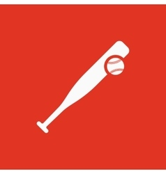 Baseball icon Game symbol Flat vector image