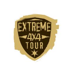 Extreme emblem image vector