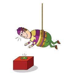 Hanging thief vector