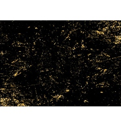light grunge gold black texture long vector image