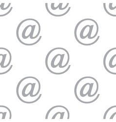New Email seamless pattern vector