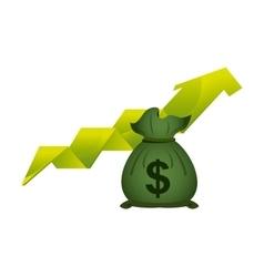 Profit and money design vector