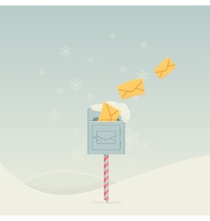 Snowy Letterbox vector
