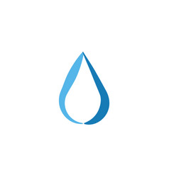 water drop abstract graphic design template vector image