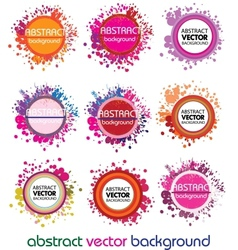 Abstract design elements vector