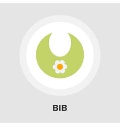Bib flat icon vector