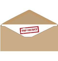 Confidential correspondence vector image