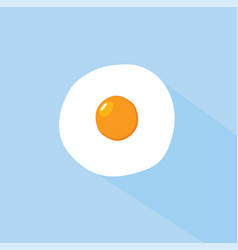 flat egg design vector image