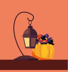 happy halloween day vector image
