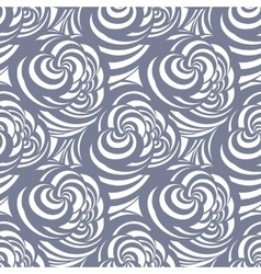seamless abstract curl pattern vector image
