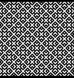 seamless simple geometric pattern in black and vector image